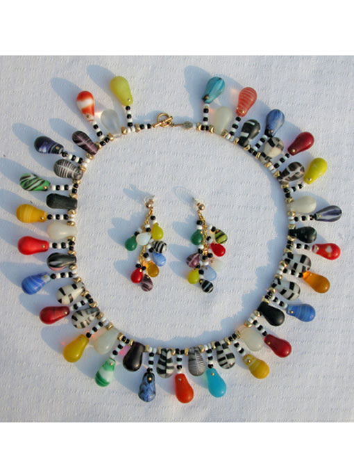 African Wedding Bead Set
