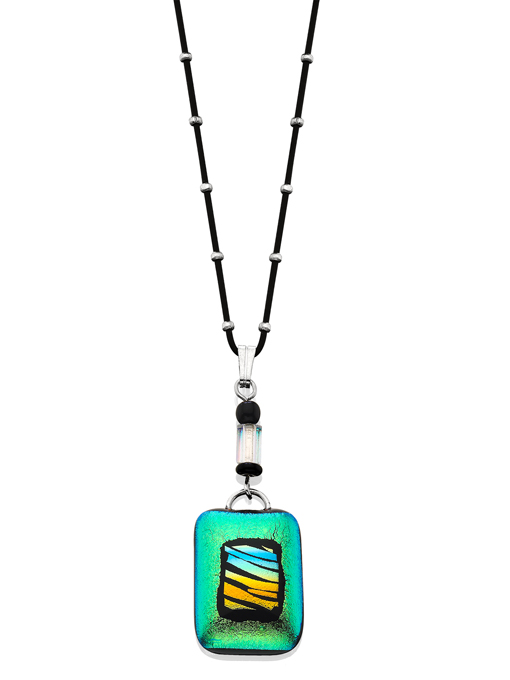 Dichroic Glass Pendant