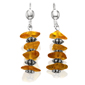 Amber Nugget Earrings