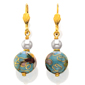 Cloisonn Earrings
