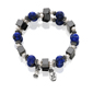 Lapis & Pearl Magnetic Bracelet